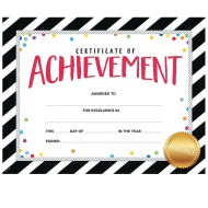 Bold And Bright Certificate of Achievement