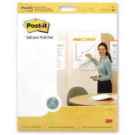 "Post It® Self Stick Unruled Wall Pads, 20"" x 23"""