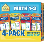 Math Flash Cards Pack, Grades 1 – 2