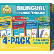 Bilingual Spanish and English Flash Cards Pack