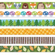 Woodland Friends Bulletin Border Trim