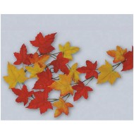Autumn Leaf Garland (Pack of 2)