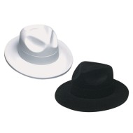Velour Fedoras (Pack of 12)