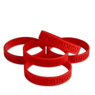 I Love Bingo Silicone Bracelet (Pack of 24)