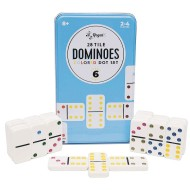 Double Six Dominoes In a Tin