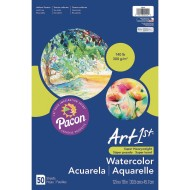 "Art1st® Watercolor Paper, 12"" x 18"" (Pack of 50)"