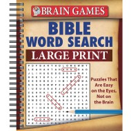 Large Print Bible Word Search Puzzle Book