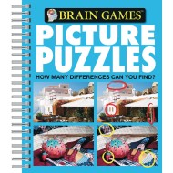 Picture Puzzles Book: How Many Differences Can You Find?
