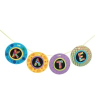 Scratch Artist Garland Craft Kit
