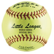 Little League Softball Fast Pitch Leather Cover