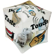 Toss n' Talk-About® Your Senses Cube