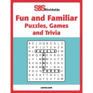 Fun Familiar Puzzle Games and Trivia Book