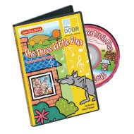 Three Little Pigs Interactive CD-ROM