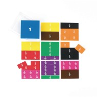 Printed Fraction Squares