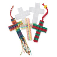 Plastic Canvas Cross, 3""
