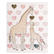 Color and Foil Giraffes Craft Kit