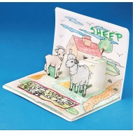 Farm Animals Pop-Up Book® (Pack of 6)