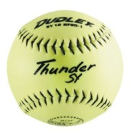 Dudley® Yellow Softball