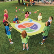 8' Choose MyPlate Parachute