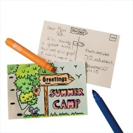 Velvet Art Summer Camp Postcard