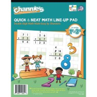 Quick & Neat Math Pad, Grades 1–3 (Pack of 10)