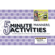 5 Minute Activities: Manners