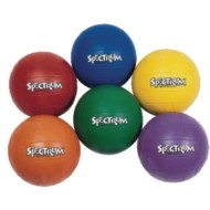 Spectrum™ Rubber Volleyballs (Set of 6)