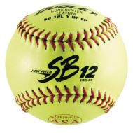 "Dudley® Leather Softball 12"" SB12LRF FP ( of 12)"