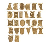 Alphabet Hot Stamps