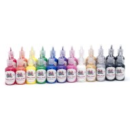 Color Splash!® Dimensional Fabric Paint Assortment, 1 oz. (Pack of 24)