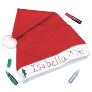 Holiday Santa Hat Craft Kit (Pack of 12)