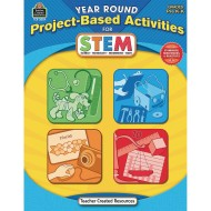 Year Round Project Based Activities for STEM Grades PREK-K Book
