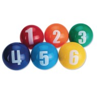 Spectrum™ Numbered Vinyl Balls, 4