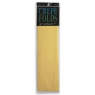 Yellow Paper Crepe, 7-1/2