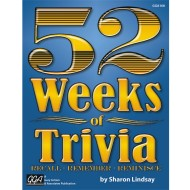 52 Weeks Of Trivia Book ( of 1)