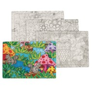 Puzzles to Color