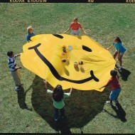 Smiley Face Parachute, 12'