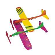 Neon Propeller Planes Craft Kit (Pack of 12)