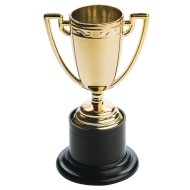 Mini Gold Cup Trophies (Pack of 12)
