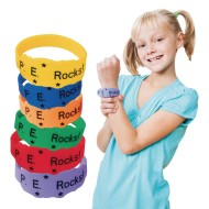 P.E. Rocks Award Bracelets ( of 24)