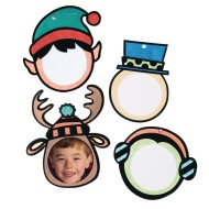 Holiday Velvet Frame Craft Kit (Pack of 48)