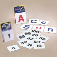 Alphabet and Numbers Card Set