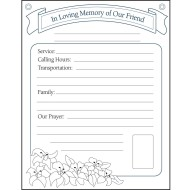 In Loving Memory Orientation Communication Posters®