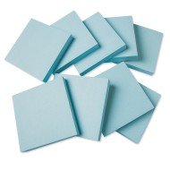 "Blue Sticky Notes, 3"" x 3"