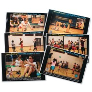 PE Central Cooperative Fitness Challenge Poster Set (Set of 6)