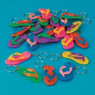 Flip-Flop Keychain (Pack of 24)