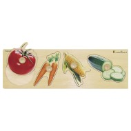 Giant Peg Puzzle, Vegetables