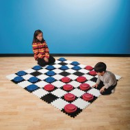 Jumbo Foam Checker Board ( of )