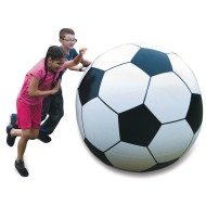 Giant 4' Inflatable Soccer Ball