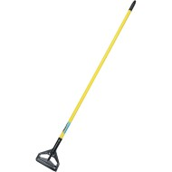 "Global™ Plastic Quick Change 1"" x 60"" Fiberglass Mop Handle"